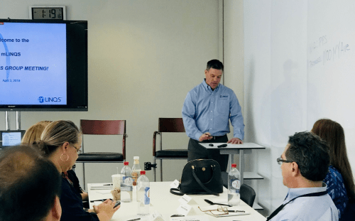 mLINQS users group 2019 with greg mcintyre